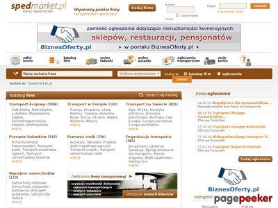 Spedycja - oferty firm spedycyjnych