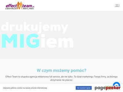 Agencja reklamowa w Słupsku Effect Team