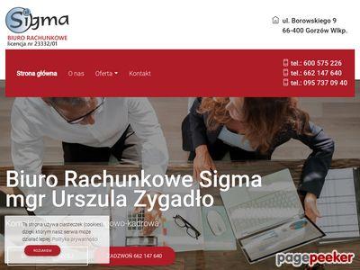 SIGMA Urszula Zygadło biura rachunkowe