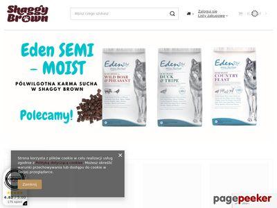 ShaggyBrown.pl - karma dla psów i kotów