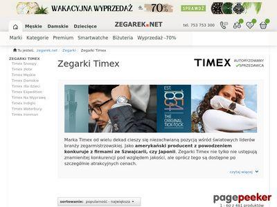 Zegarki Timex najtaniej! SklepTimex.pl