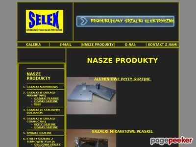 SELEX grzałki przemysłowe
