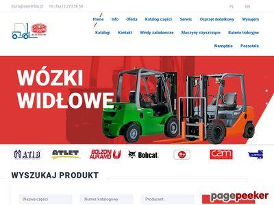 Używane wózki widłowe – sawimbis.pl