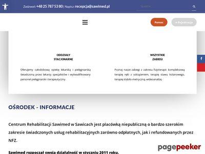 Ośrodek rehabilitacyjny - Sawimed.pl