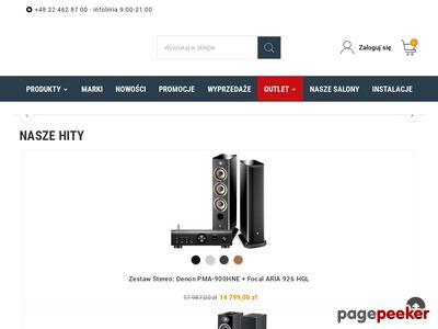 Salonydenon.pl- zestawy stereo i wiele więcej