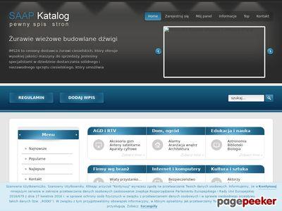 Katalog stron www.saap.pl