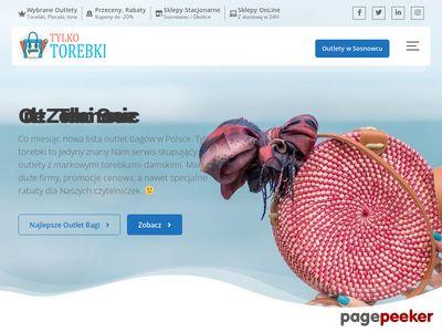 TylkoTorebki.pl modne torebki damskie.