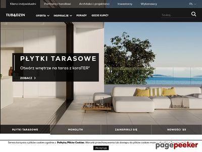 Płytki łazienkowe www.tubadzin.pl