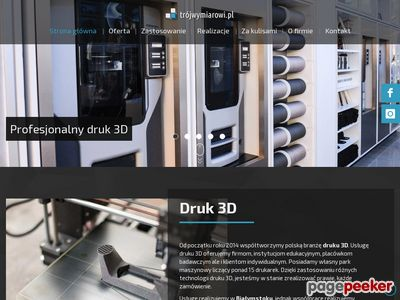 Trójwymiarowi.pl - drukowanie prototypów w trójwymiarze
