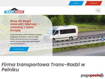 Przewóz osób. Busy z Olsztyna do Holandii, Belgii, Niemiec.