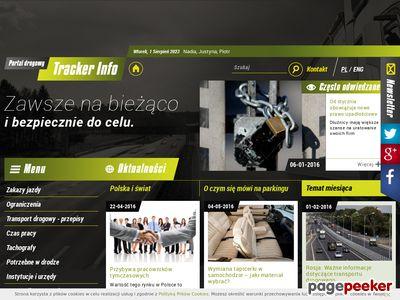 Portal drogowy TrackerInfo.eu