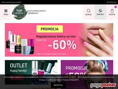 Www.topdrogeria.pl-Kosmetyki online