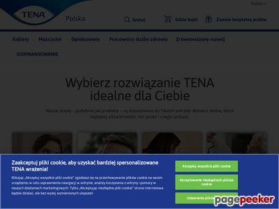 Artykuły higieniczne - www.tena.pl