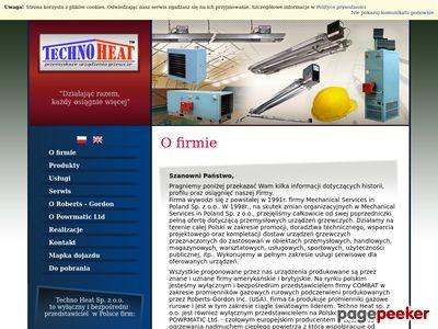 Www.technoheat.pl | Systemy grzewcze dla hal
