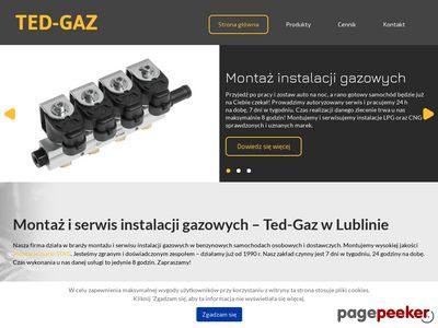 Instalacja gazowa LPG