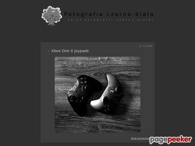 Fotografie czarno białe