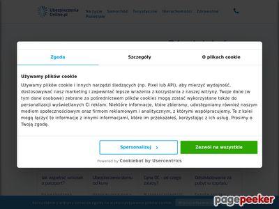 Porównywarka ubezpieczeń www.ubezpieczeniaonline.pl