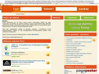 Branżowy katalog firm z całej Polski