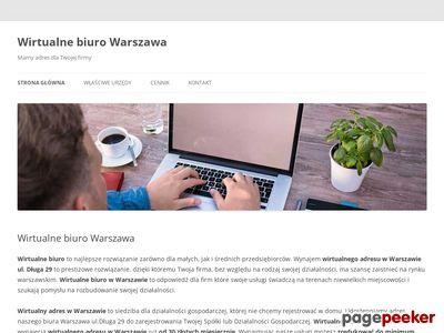 Wirtualny adres warszawa wirtualna-firma.pl