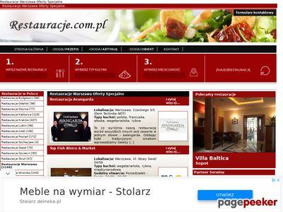 Polecana restauracja w Warszawie