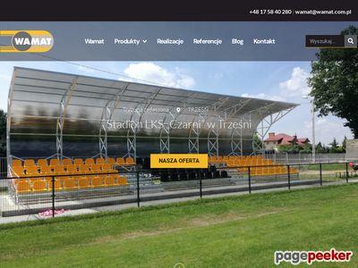 Podjazd dla niepełnosprawnych | www.wamat.com.pl