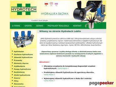 Hydraulika siłowa, napędy i sterowanie