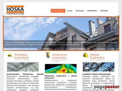 Przeglądy budowlane, ekspertyzy budowlane