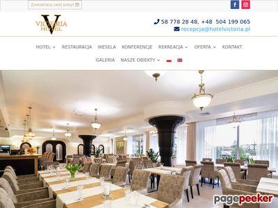 Hotel Victoria obiekt konferencyjny pomorskie