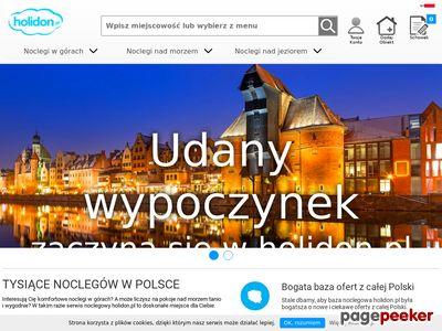 Kwatery nad jeziorem Holidon.pl
