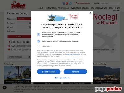 Noclegi wakacje Hiszpania