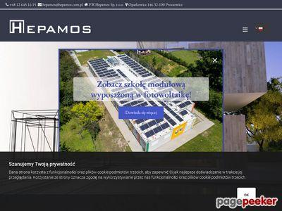 Budynki modułowe Hepamos
