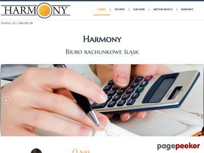Harmony - księgowa piekary, biuro rachunkowe piekary