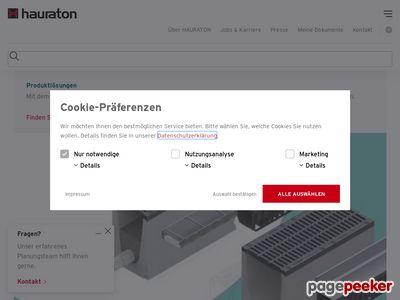 Hauraton - zagospodarowanie wód opadowych