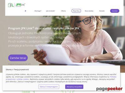 JPK Link - łączenie plików JPK