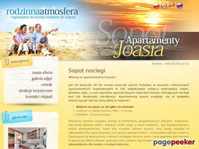 Noclegi w Sopocie Joasia.com.pl