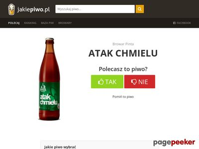 Ranking piw - www.jakiepiwo.pl