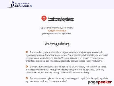 Nauka przed maturą - kursymaturalne.pl