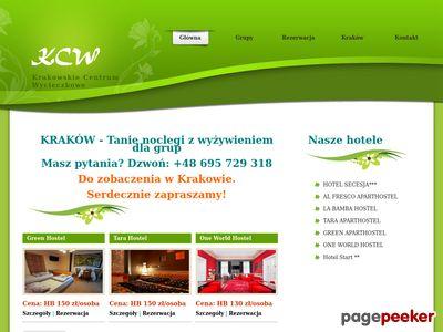Tanie noclegi w Krakowie, Tanie Hotele