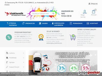 Klakiernik.pl - taśmy maskujące, lakiery samochodowe