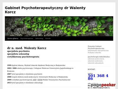 Psychoterapeuta Białystok
