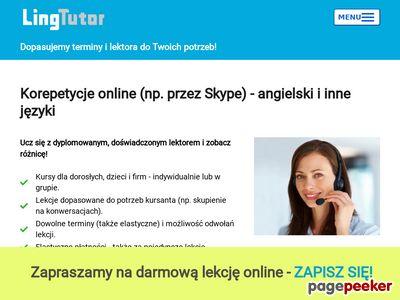 E- korepetycje: niemiecki, francuski i angielski przez Skype