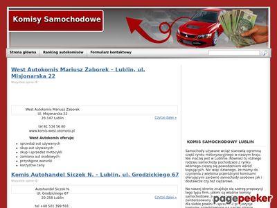 Komisy samochodowe w lublinie