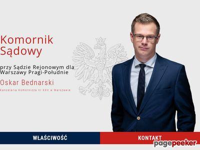 Komornik Warszawa - Mokotów Ursynów - komornik