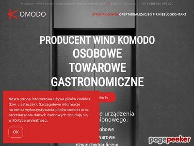 Komodo- Montaż i Serwis Wind