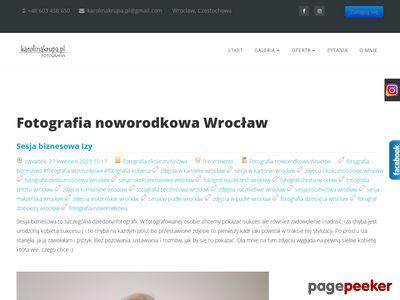 Fotografia noworodkowa Wrocław, sesja noworodkowa Wrocław