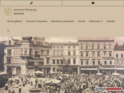 Kancelarie notarialne Katowice