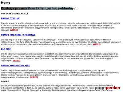 Kancelaria prawna - kancelaria-sowa.pl