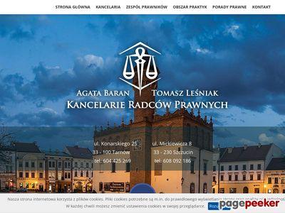 Kancelaria.tarnow.pl - porady prawne Tarnów