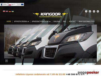 Kangoor - wynajem samochodów dostawczych Rybnik