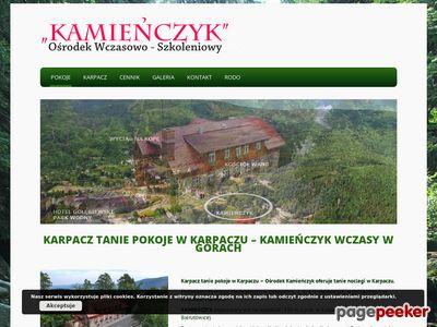 Karpacz - Kamieńczyk - noclegi w Karpaczu